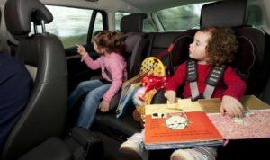 Как развлечь детей в длительной поездке